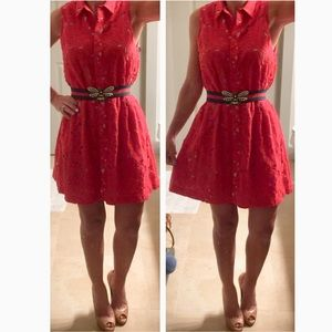 Alice and Olivia collared dress size XS